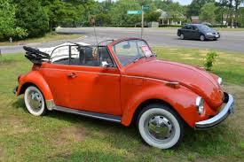Vw Beetle Classic Interior Volkswagen Beetle Classic Convertible 1972 Orange For Sale