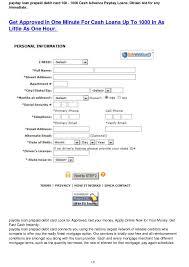 prepaid debit card loans debit card advance loans payday advance los angeles ca