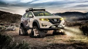 nissan the nissan rogue trail warrior project is equipped with tank