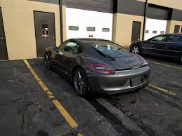 porsche cayman 2015 grey porsche gts only badging for a cayman gts
