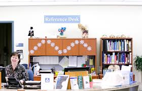 Library Reference Desk Reference Thayer Public Library