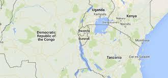 Burundi Africa Map by Burundi Sos Barnebyer