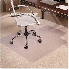 Vinyl Swivel Chair by Office Rectangle Chair Mat For Low Pile Carpet Moderate Office
