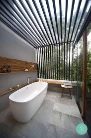 outdoor bathrooms ideas bathroom 2017 modern outdoor bathroom decor with grey tiles