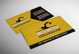 milo meyer construction business card accounting plus of wayne