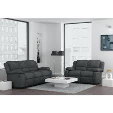 canapé relax 3 places tissu canape canape relax tissu canapa sofa divan ensemble de 2