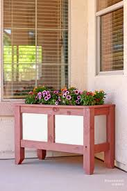 Diy Planter Box by Pneumatic Addict Wood And Metal Planter Box Building Plans