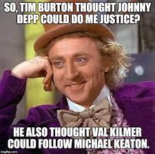 Val Kilmer Batman Meme - creepy condescending wonka meme imgflip