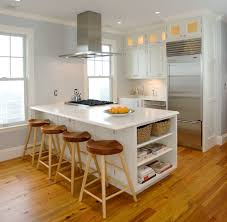kitchen island in small kitchen designs homes traditional kitchen portland maine by rockwood