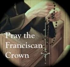 franciscan crown rosary how to pray the franciscan crown rosary il poverello fraternity