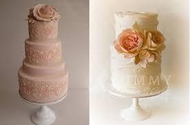 peach ombre wedding cake peach wedding cakes cake geek magazine