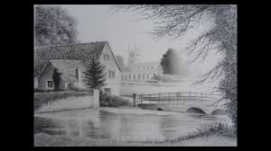 landscape pencil sketches gallery landscape drawings in pencil