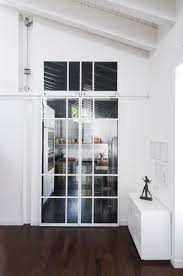 porte de cuisine en verre zeitgenössisch porte de cuisine coulissante haus design