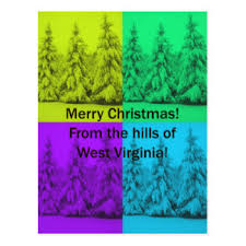 west virginia christmas cards zazzle