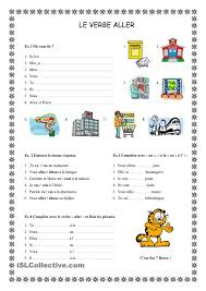 Grade 2 French Immersion Worksheets Le Verbe Aller Speak French Learning French And Language