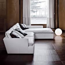 Wooden Furniture Sofa Corner Modular Sofa Corner Contemporary Leather Paramount By