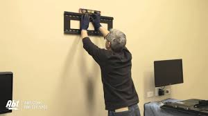 Pictures On Walls by How To Wall Mount A Tv Led U0026 Lcd Abt Electronics Youtube