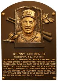 Johnny Bench Fingers Ordinary Johnny Bench Part 12 Johnny Bench Look Back At The