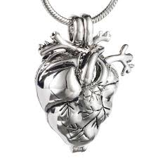 urn jewelry new style memorial heart cremation jewelry for ashes eternity