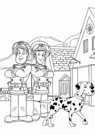 fireman sam cartoon archives coloring 4kids