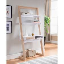 Short Ladder Bookcase Leaning U0026 Ladder Desks You U0027ll Love Wayfair