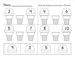counting worksheets 1 10 free worksheets library download and