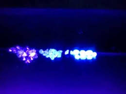 what can a black light detect diamonds under ultra violet light youtube