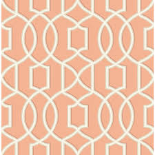 beacon house lotus coral damask wallpaper 2669 21754 the home depot