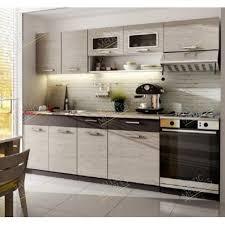 meuble de cuisine en kit meuble cuisine pas cher discount kit moreno 2m40 6 meubles 2