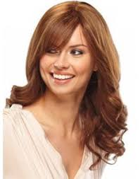 hair style that is popular for 2105 new arrival 22 top quality long orange smooth natural wave indian