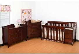 Baby Furniture Nursery Sets Furniture Westwood Designs Crib With Brown Chest Of Drawers