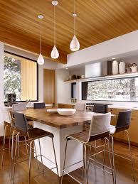 chic butcher block kitchen islandin kitchen transitional with
