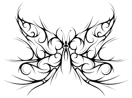 tribal butterfly by forace on deviantart