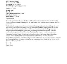teacher sample cover letter cover letter cover letter template