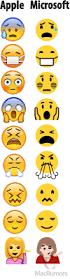 unicode 9 emoji updates microsoft updates windows 10 emoji to resemble apple u0027s collection