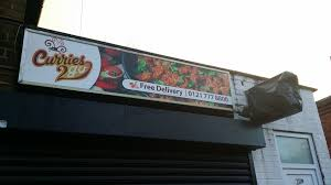 curries 2 go signboard design print and application big print