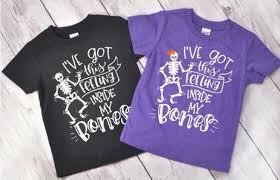 halloween shirt for kids i u0027ve got this feeling inside my