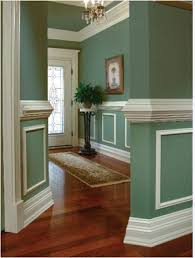 Chair Rail Molding Ideas Wall Molding Beautiful Note The Thick Baseboards Chair Rail And