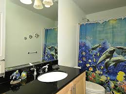 Blue Bathroom Accessories by Dolphin Shower Curtain For Bath Accessories U2014 Jen U0026 Joes Design