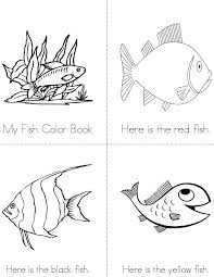 fish color book twisty noodle
