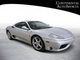 used 360 modena used 2000 360 modena zffyu51a9y0122459 cars com