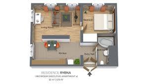 one bedroom apartment one bedroom apartment type 1 residence rybna