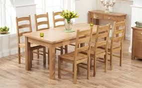 solid oak dining table and 6 chairs modern oak dining table sets great furniture trading company the and
