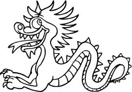 dragon coloring pages info chinese dragon coloring pages vodaci info 8 colors in 6014