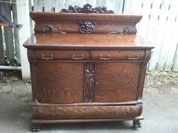 john mark power antiques conservator quarter sawn oak buffet ca