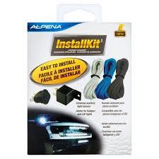 alpena flex led lights installation alpena universal automortive install kit on off rocker switch 20