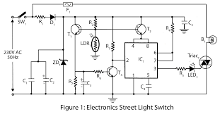 how to build a simple automatic street light system learneverythings