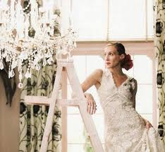 city wedding dress and the city carrie bradshaw wedding dress from vogue photo shoot