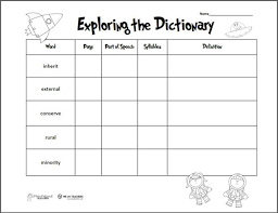 dictionary guide words worksheet 4th grade the best and most