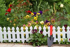 Fence Landscaping Ideas Beautiful White Fence Landscaping Ideas Garden Lovers Club